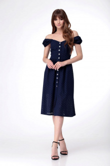 платье AMORI 9530 синий