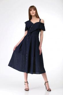 Платье AMORI 9531 синий