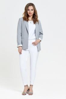 TEZA 2395 серый-белый
