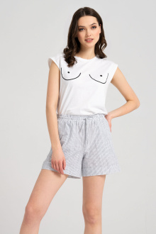 шорты Панда 7860z белый