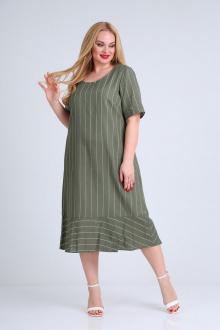 платье Mamma Moda М-680 зелень