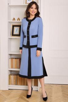 Мода Юрс 2635-1 голубой-черный