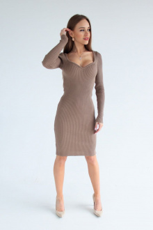 платье EV&ES 22 кофе