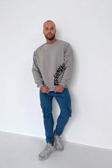 Rawwwr clothing 229-начес серый