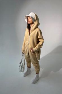 брюки Rawwwr clothing 213-начес бежевый
