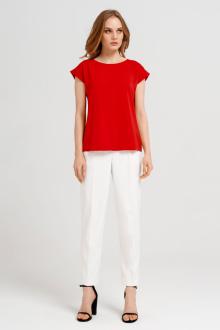 блуза Панда 27740z красный