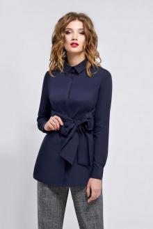 блуза Арита-Denissa 1159 синий