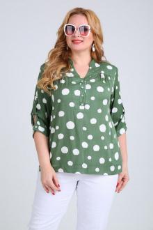 блуза Mamma Moda М-479 зеленый