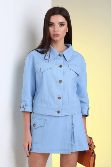 шорты Viola Style 7038 голубой