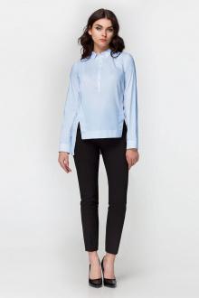 блуза Панда 393340 голубой
