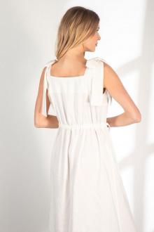 платье Vladini DR1154 молочный