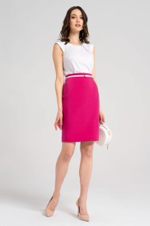 юбка Панда 54050z малиновый