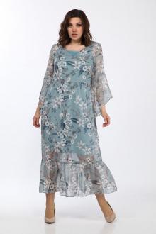 Lady Style Classic 1802/1 голубой_цветы