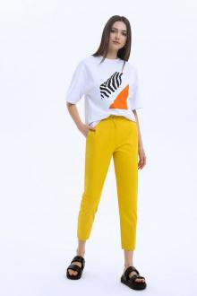 брюки LaVeLa L20125 желтый
