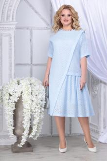 платье Ninele 5840 голубой