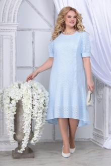платье Ninele 7328 голубой