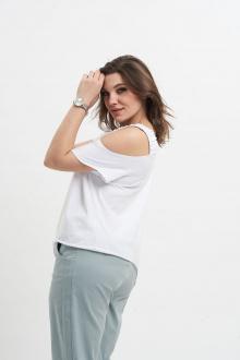 блуза GRATTO 4130 белый