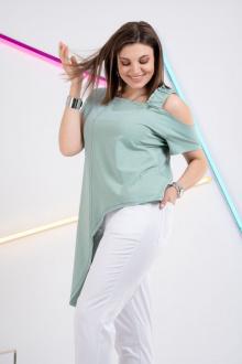 блуза GRATTO 4130 мята