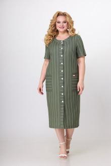 платье SOVITA M-2117 олива