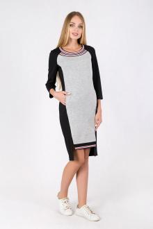 Daloria 1447 серый-черный
