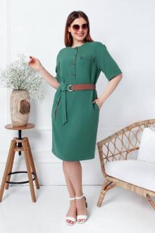 платье Gold Style 2113 изумрудно-зеленый
