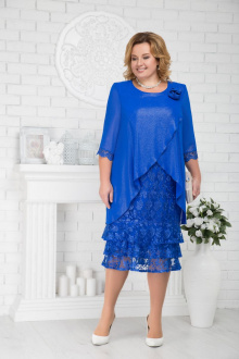 платье Ninele 7210 василек