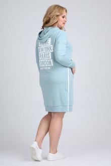 платье Ollsy 1556 бирюза