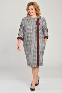 Lady Style Classic 1550 серый+бордо