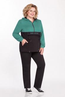 Спортивный костюм Tellura-L 1507 зеленый