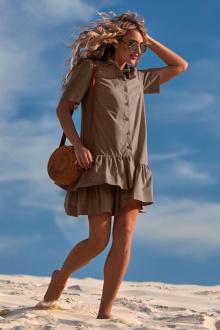 платье Golden Valley 4719 коричневый