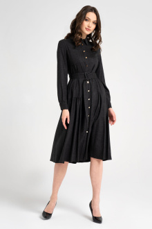 платье Панда 23480z графит