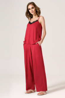 блуза Панда 25140z красный