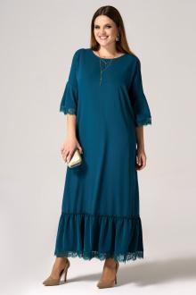 Платье Панда 26380z зеленый