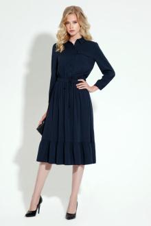 Платье Панда 2680z синий