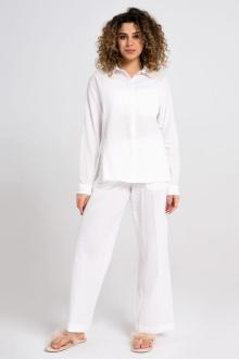 брюки Панда 29160z белый