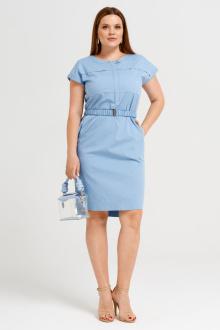 платье Панда 46680z голубой