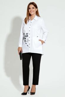 блуза Панда 5440z белый