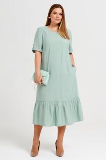 Платье Панда 45280z мятный