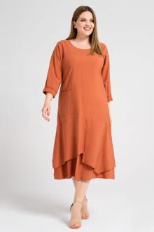платье Панда 38680z терракотовый