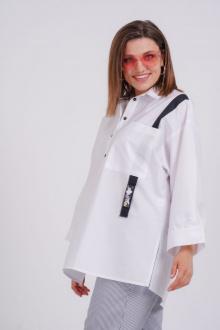 рубашка GRATTO 4017 белый