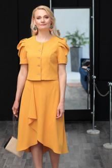жакет,  юбка MadameRita 5137 желтый