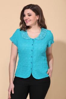 Блуза La Prima 0652 синий