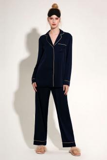 блуза Панда 1243z синий