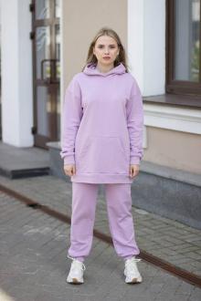 брюки, худи Sisteroom СК-048 лиловый