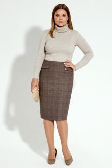 юбка Панда 16050z коричневый