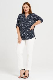 блуза Панда 43940z черно-белый