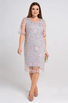 платье Панда 37980z серый