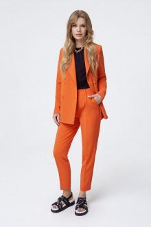 брюки,  жакет,  майка PiRS 1005 оранжевый-черный