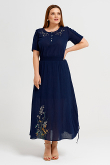 платье Панда 31880z синий