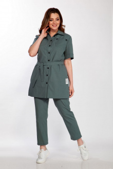 блуза Belinga 5107 зел.тона